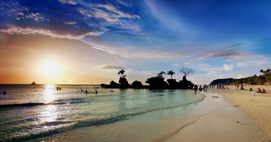 ボラカイのビーチと環境