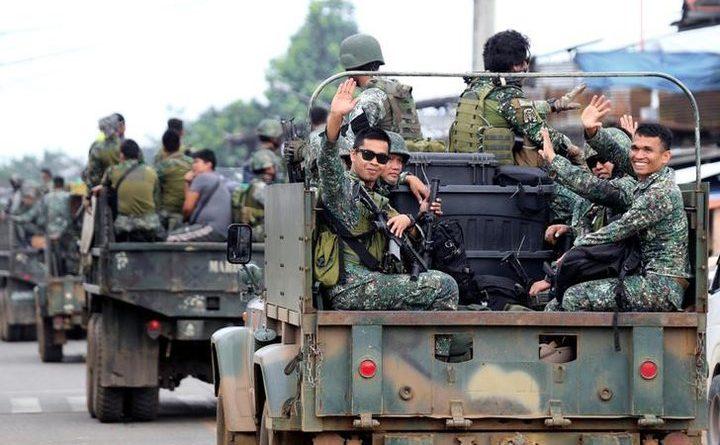 フィリピン、マラウィでの作戦終了宣言 IS系勢力を鎮圧