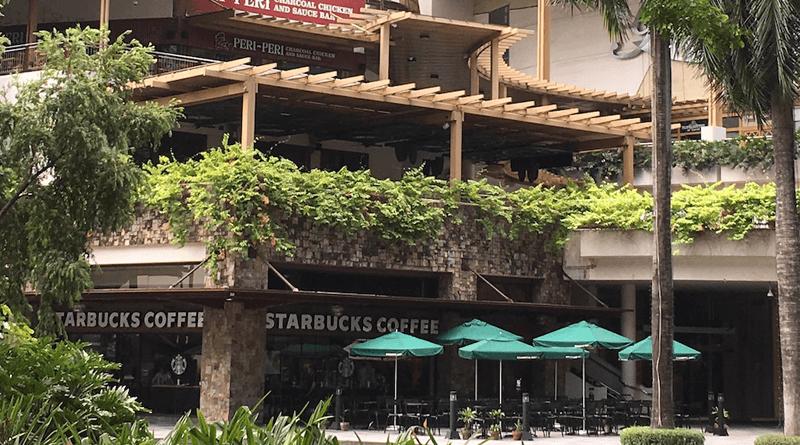 まるで都会のオアシス!緑豊かなマカティのショッピングモール「グリーンベルトモール」