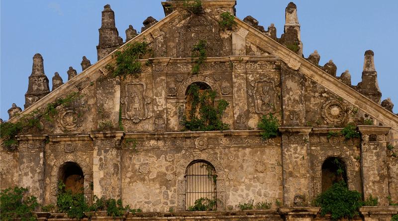 フィリピン・パオアイの世界遺産「サン・オーガスチン教会」