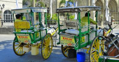 フィリピンの世界遺産ビガンを二輪馬車「カレッサ」で優雅に散策!